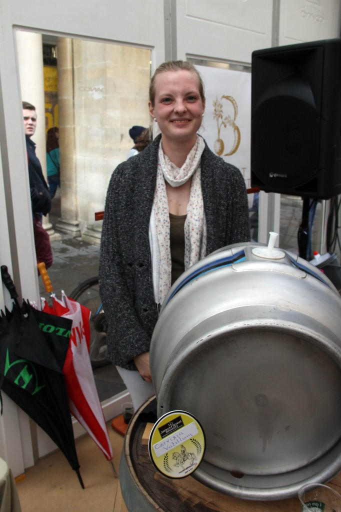 Anna Schwable, head brewer at James Street Brewery