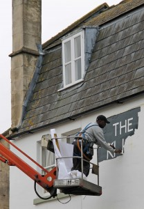 The King's Arms gets a makeover ready for its reopening on 2 December