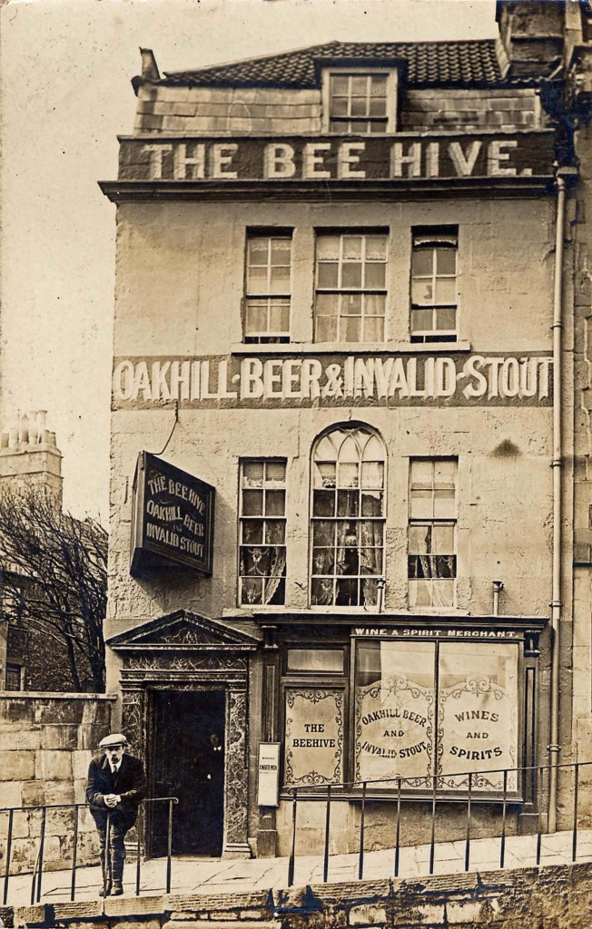 The Beehive as it looked a century ago